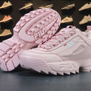 Shoes - FILA Womens Disruptor II 2 Sneakers Athletic Incre